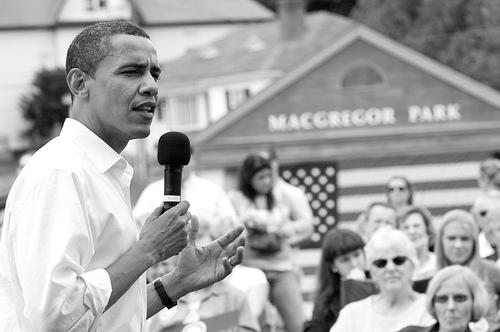 Democratic Nominee, Sen. Barack Obama