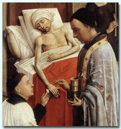 Facts on the Practise of Anointing the Sick and Dying