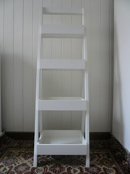Paint Ladder White