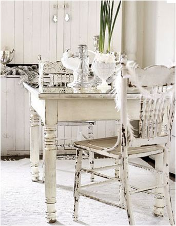 Crisp, Dreamy White Decorating