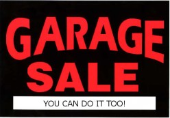 Garage Sales how to enjoy having one