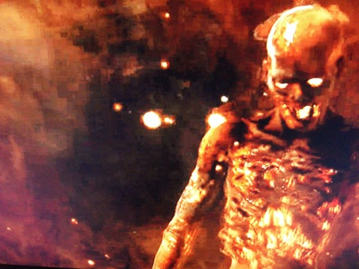 "Who is this fiery dead guy, as seen in the reveal trailer for the ""Annihilation"" map pack?"