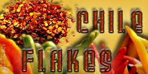 "Spice up any backyard BBQ grill by adding a few ""chile flakes"" to your seasonings!"