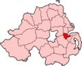 Map location of Belfast