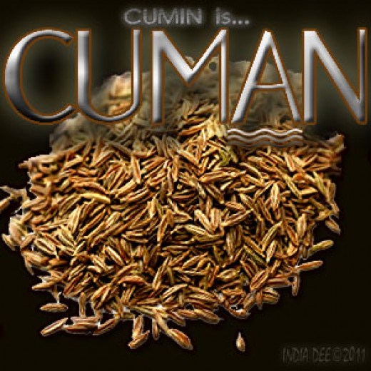 CUMIN IS COOL-MAN! Cumin has many healthful nutrients, as well as a spectacular flavor profile.