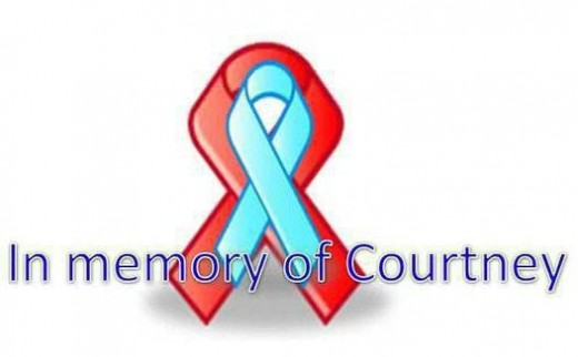 Facebook profile pictures have changed to a sea of blue and red in honor of Courtney Wilkes' life and to show support and love for her family and friends.