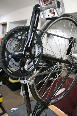 Large chainrings can add unecessary weight