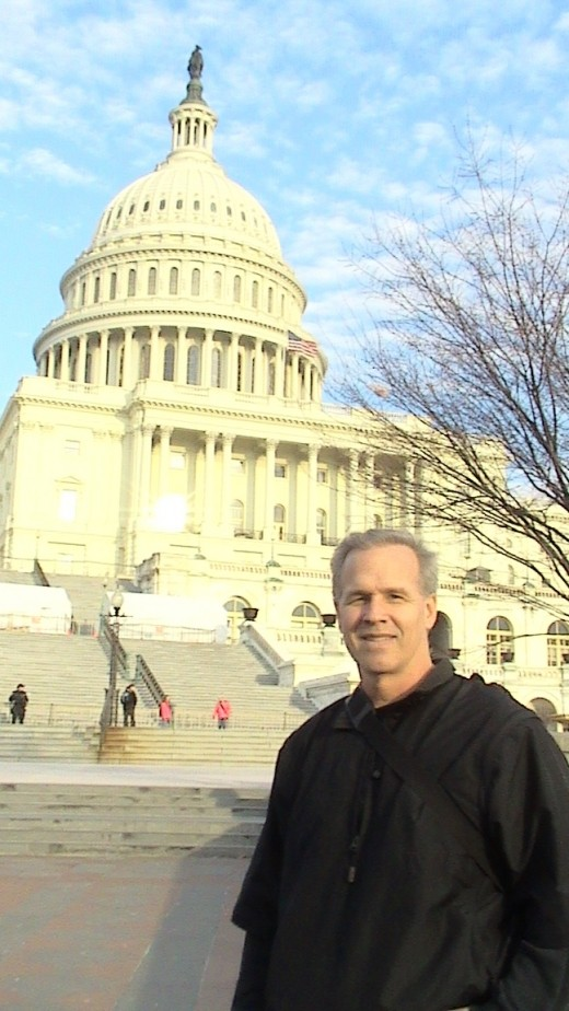 """While visity DC recently, I had the opportunity to walk the capitol grounds.  The sights and sounds... Well you know """"priceless."""""""