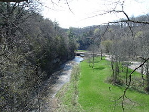 Apple River Canyon State Park, Illinois.