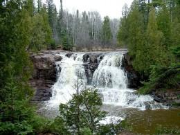 Gooseberry Falls State Park, Minnesota.