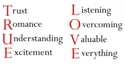 True Love!  We all want it...but what is it?