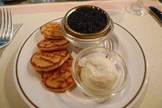 Blini and Caviar