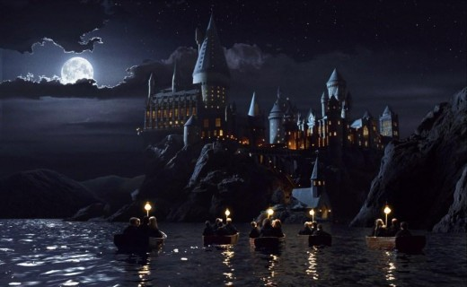 Hogwarts Castle - I've been there; it didn't look much like this though.