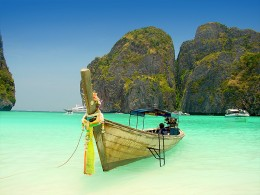 Natural beauty beach of Koh Phi Phi Island, Thailand