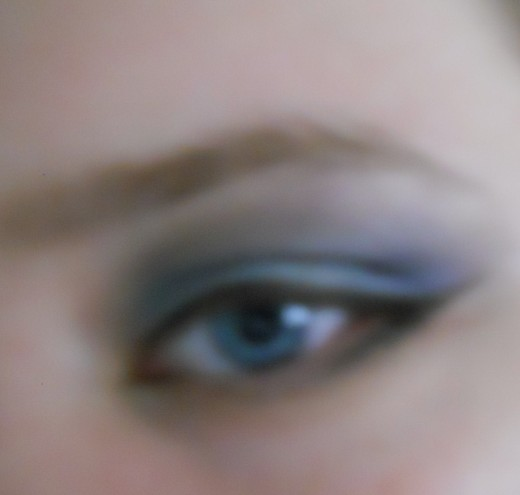 "The Look Using Lauren Luke's Pallet ""My Sultry Blues"" from Sephora"