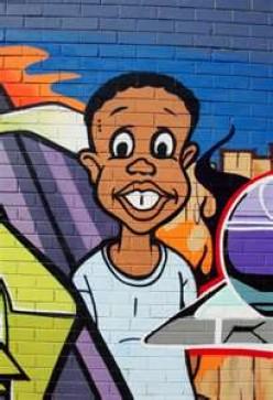 Mural of Leroy