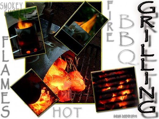 """It's time to start playing with fire! """"BBQ Grilling Fire"""" that is!"""