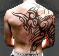 Men's Back Tattoos