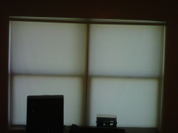 Window with only window shade