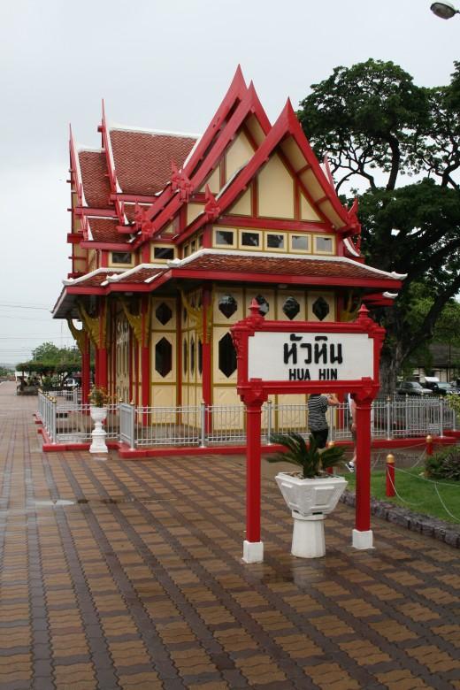 The Royal Waiting Room at Hua Hin Railway Station