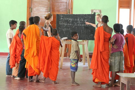 Volunteer teaching jobs abroad
