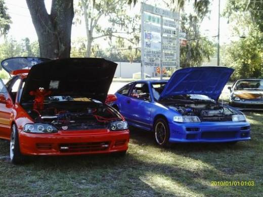 93 Hatch, 90 CRX