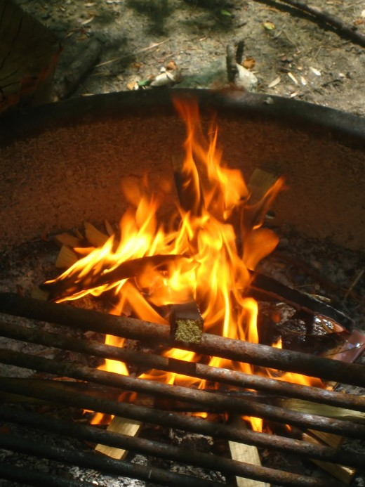 Get the right campfire cooking equipment.