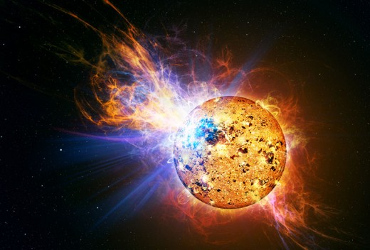 Solar Flares are common events ... but will we catch a killer on in 2012?