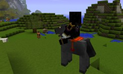 Minecraft Rideable Mounts | How To Tame Minecraft Horses and Craft Horse Saddles