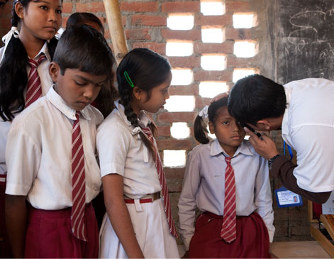 The Seva Foundation is Toms' first Sight Giving Partner.
