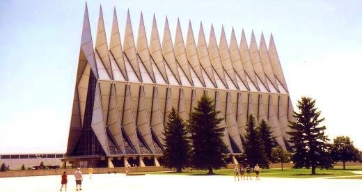 Amazing Air Force Academy Chapel