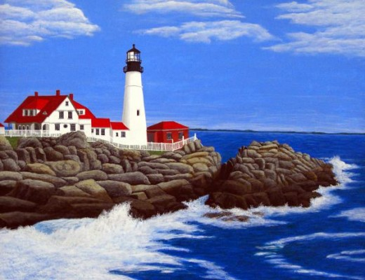 Portland Head Lighthouse Cape Elizabeth, Maine