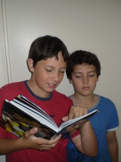 Encouraging the Reluctant Reader