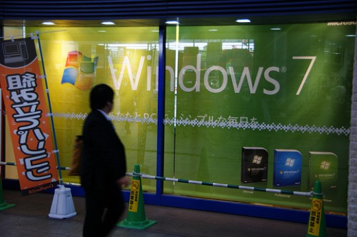 Windows 7 is an example of system software.