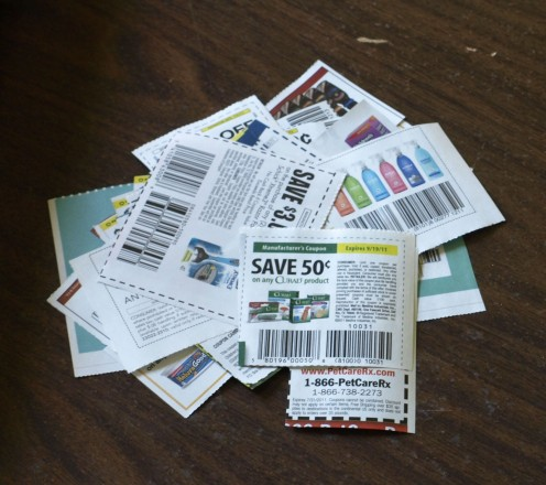 Coupons paired with flyer sales can make a huge impact on your grocery shopping bill.