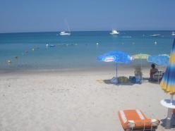 Pinarello Beach, Corsica, France