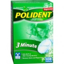 5 uses for Denture Cleanser Tablets