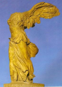 Victory of Samothrace. Louvre museum - Paris.