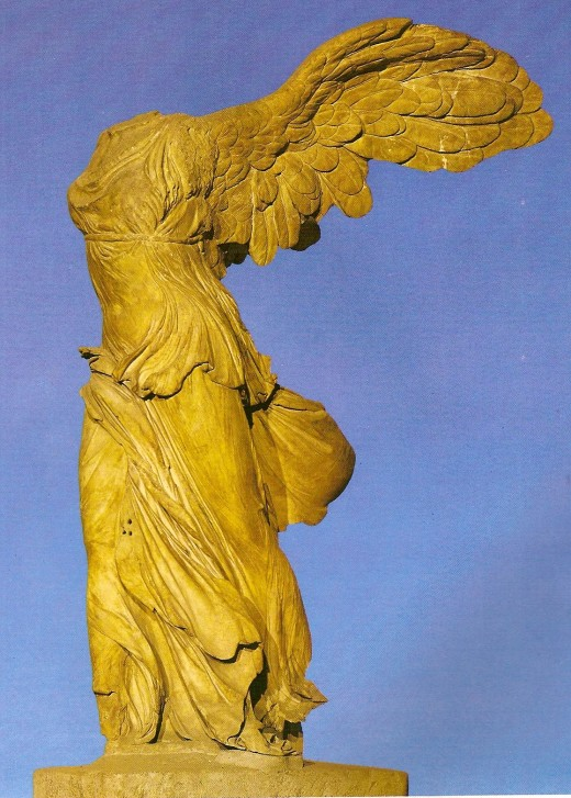 Victory of Samothrace. Louvre museum - Paris.