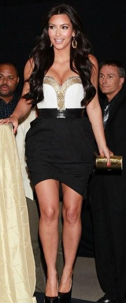 Kim Kardashian looking gorgeous at the launch of her new perfume at Macy's.