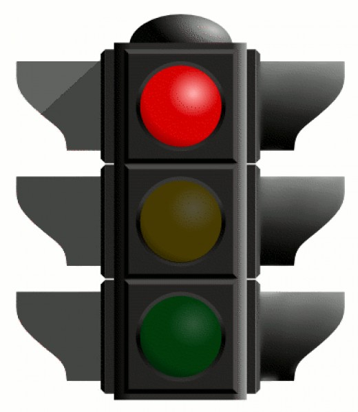 The Crosswalk Red Light, What could be easier? Walk up, push button, wait for light, Traffic stop, Walk. OK?