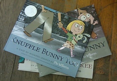 "Mo Willems' ""Knuffle Bunny"" series makes a fantastic gift that parents and children alike will treasure."