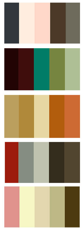 'Homemade' Colour Pallette
