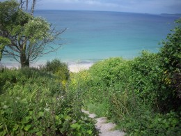 Cliff path from Carbis Bay to Leland Village Church
