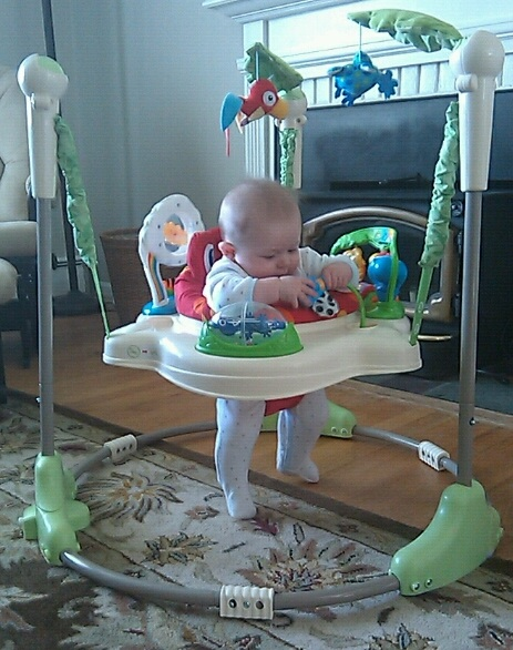 My nephew loves his Fisher Price Rainforest Jumperoo! Keep reading below for this and other baby products I recommend in the $50-$100 price range.