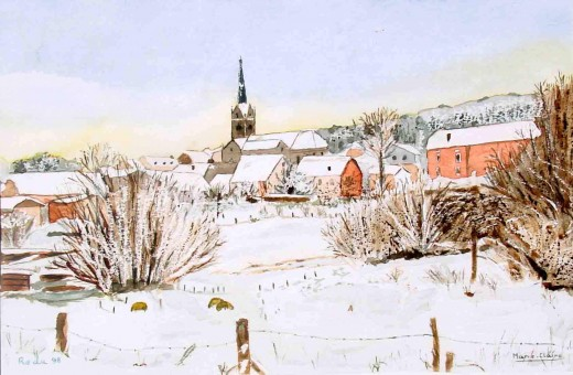 Redu: the village in winter