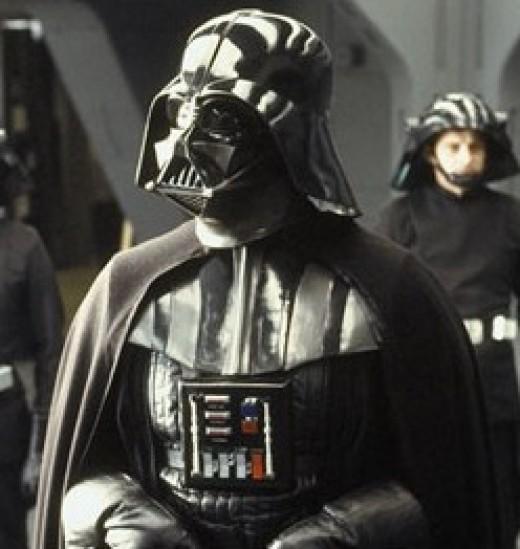 Darth Vader, of Star Wars fame