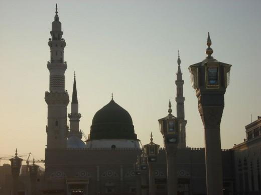 Tomb of Muhammad in Medina