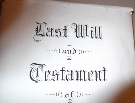 A Last Will and Testament is required for probate, but can be denied by the court.