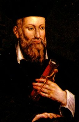 Nostradamus was one of the most interesting seers in the last millennium. Some of his prophecies become increasingly clear as events unfold, such as the one below.